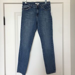 Medium wash denim jeans forever 21